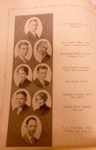Roswell High School El Coyote 1927 Yearbook.JPG